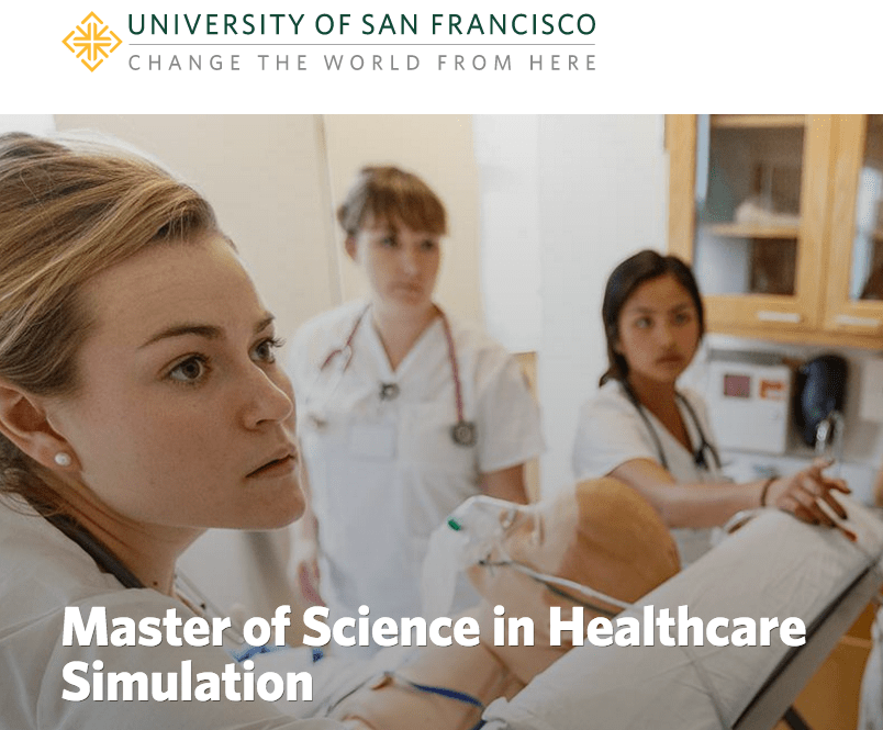 USF – Master of Science in Healthcare Simulation